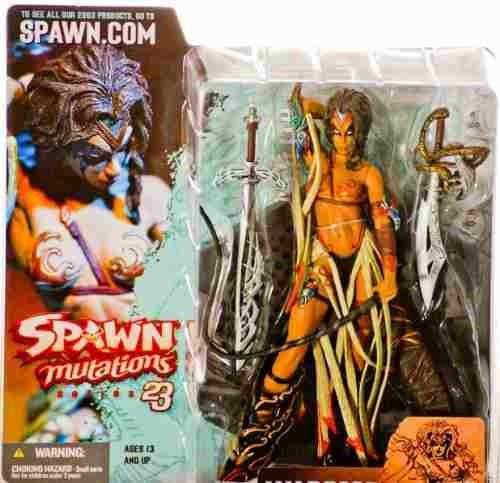 figura mcfarlane warrior lilith spawn 23 mutations
