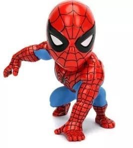figura metal spiderman 11 cm art 97957 wabro