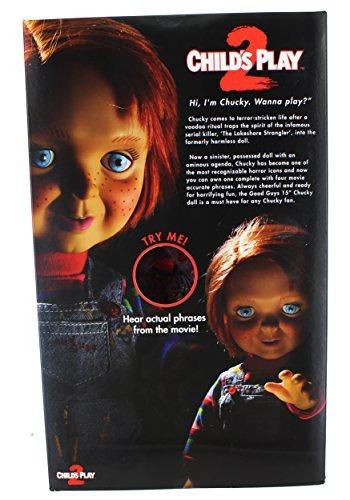 figura mezco child s play talking good guy chucky 15  doll
