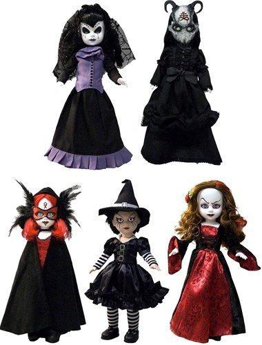 figura mezco living dead dolls series 26 set of 5