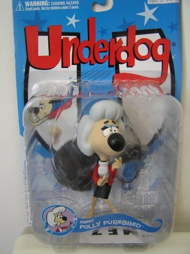 figura mezco sweet polly purebreed underdog series 1 by