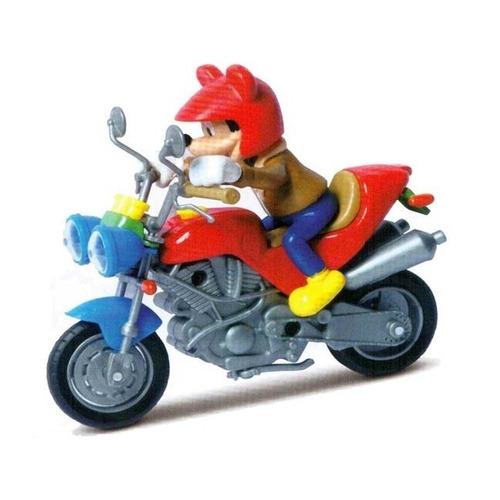 figura mickey en moto disney motorama nuevo garantía