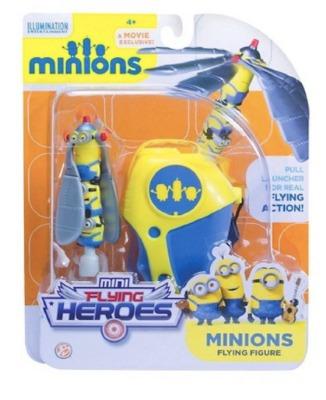 figura mini heroes voladores  minions   a1402
