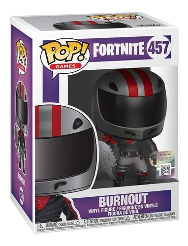 figura muñeco funko pop fortnite burnout 457