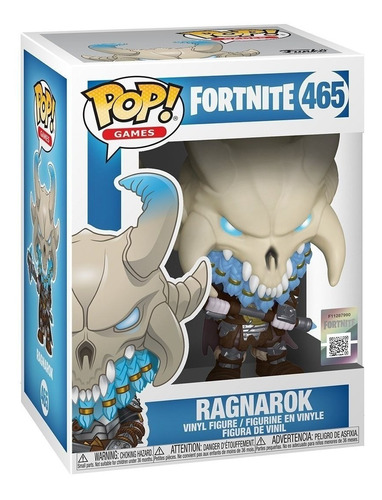 figura muñeco funko pop fortnite ragnarok 465