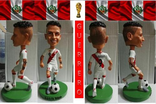 figura muñeco mundial futbol rusia peru guerrero