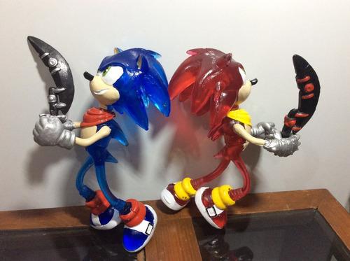 figura muñecos sonic the hedgehog con luz