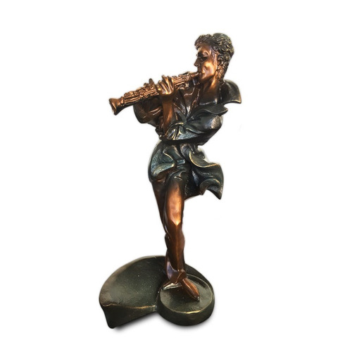 figura músico trompetista clásico