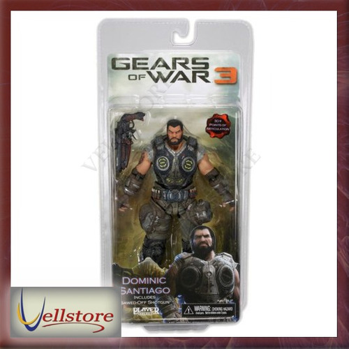 figura neca gears of war 3 series 2 dominic santiago