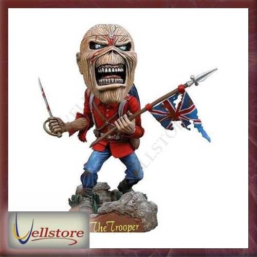 figura neca iron maiden eddie trooper head knocker head 8