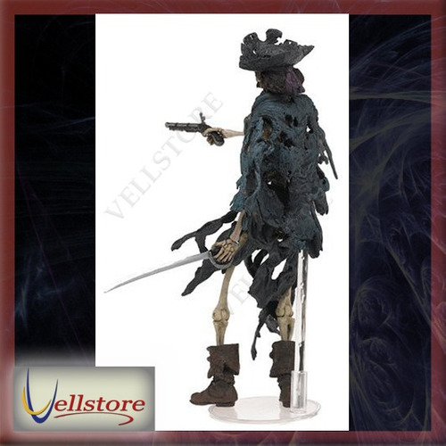 figura neca pirates of the caribbean 1 skeleton pirate