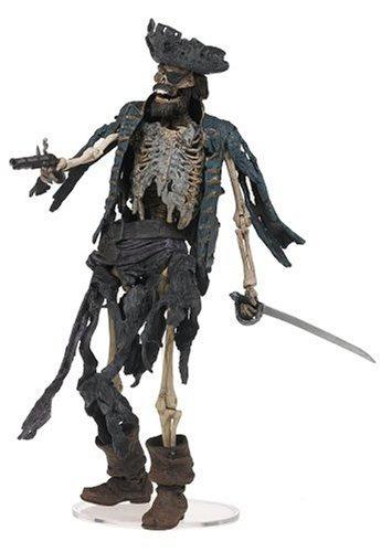 figura neca pirates of the caribbean 1 skeleton pirate