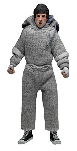 figura neca rocky rocky sweatsuit 8  clothed action figure