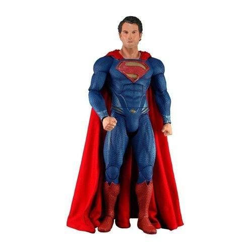figura neca superman man of steel action figure 1/4 scale
