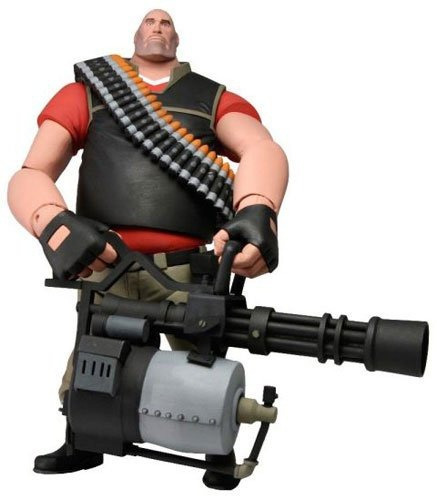 figura neca team fortress 2 the heavy 7