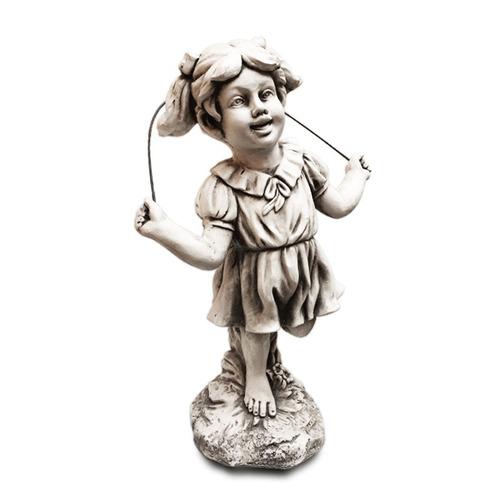 figura niña saltando la cuerda