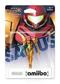 Figura Nintendo Amiibo Samus Super Smash Bros Sniper