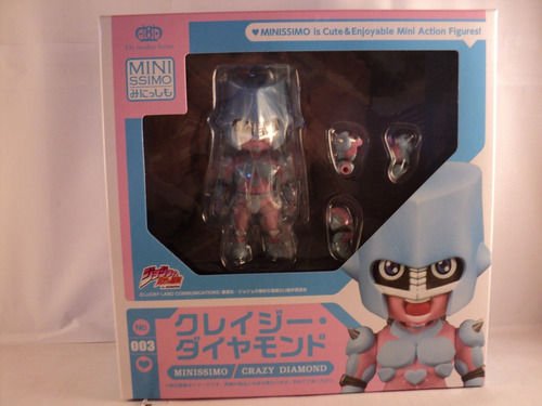 figura original crazy diamond jojo's bizarre adventure