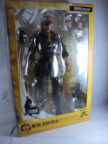 figura original metal gear solid play arts kai miller
