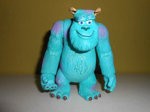 figura parlante de sully de monsters inc. en español 15 cms