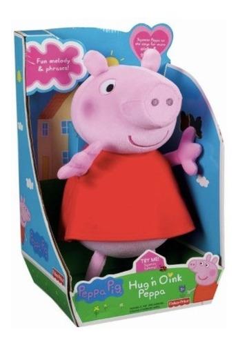 figura peluche habla  peppa pig  (30 cm) a0171