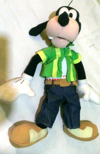 figura peluche original de disney de goofy habla marioneta