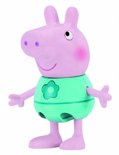 figura peppa pig vestir y hablar 12 piezas original