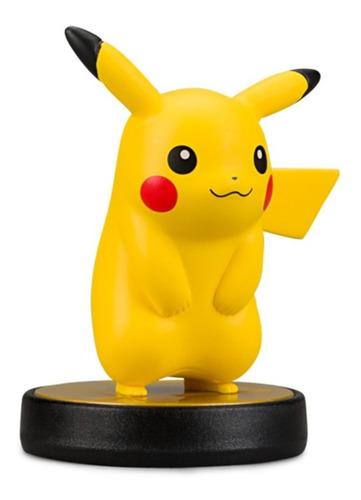 figura pikachu amiibo smash bros nintendo - factura a / b