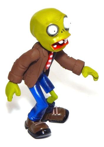 figura plantas vs zombies juguete zombie corbata luz 22cm