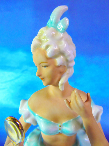 figura porcelana deco