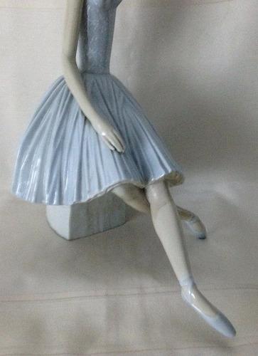 figura porcelana lladró bailarina del triste arlequín 100 vd