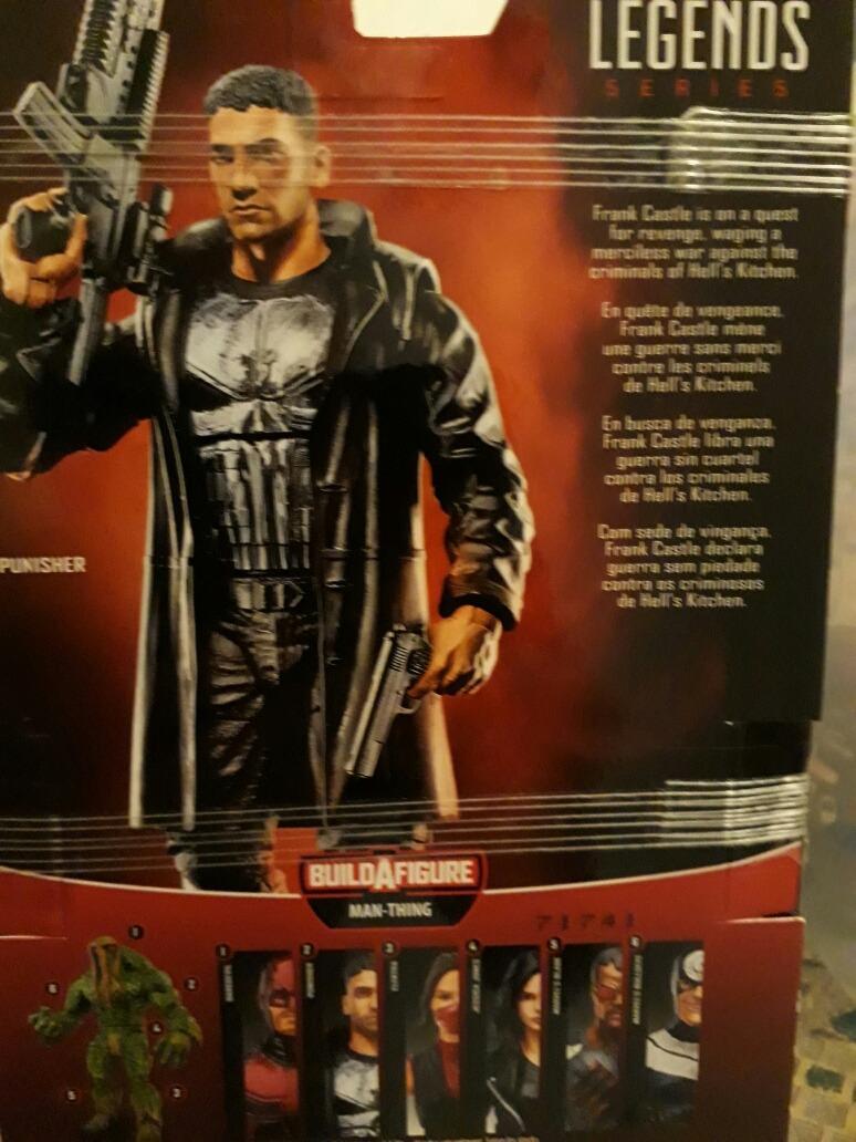 Figura Punisher El Castigador Marvel Comics El Vigilante