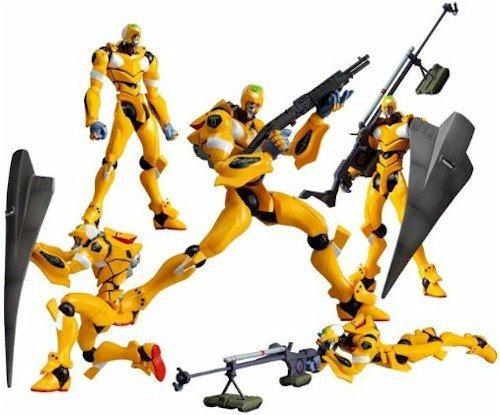 figura revoltech evangelion eva unit 00 yellow