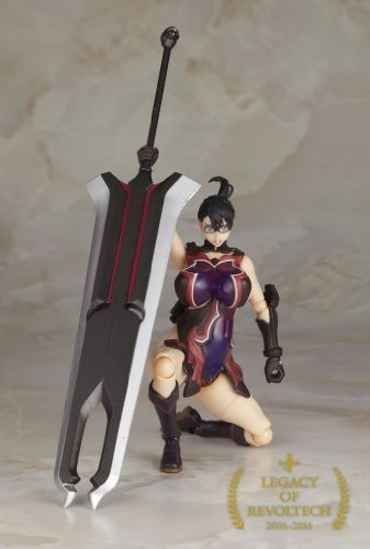 figura revoltech legacy of queens blade cattleya