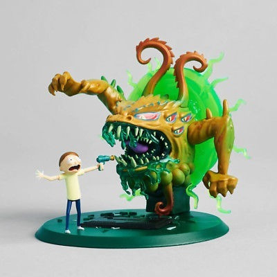 figura rick and morty exclusiva