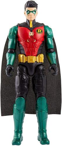 figura robin liga de la justicia 30 cm batman missions fvm71
