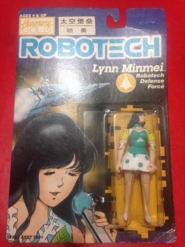 figura robotech lynn minmei harmony gold