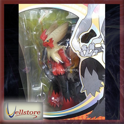 figura s h figuarts pokemon mega blaziken pocket monsters xy