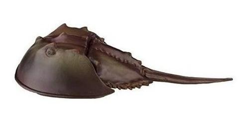 figura safari cangrejo herradura mar agua arena no toxico ®