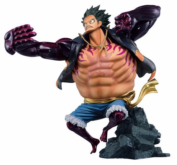 Figura Scultures Big One Piece - Monkey D. Luffy Gear 4 -   950.00 ... 607c5db6980