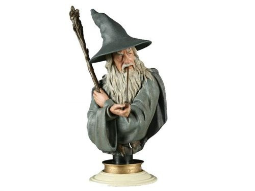 figura sideshow gandalf the grey legendary scale bust