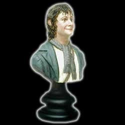 figura sideshow lord of rings: peregrin pippin took 1/4 bust