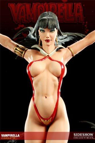 figura sideshow vampirella comiquette polystone statue