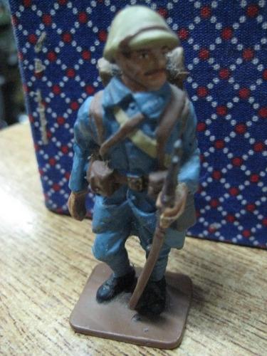 figura soldado frances 1a. guerra alemania plomo del prado