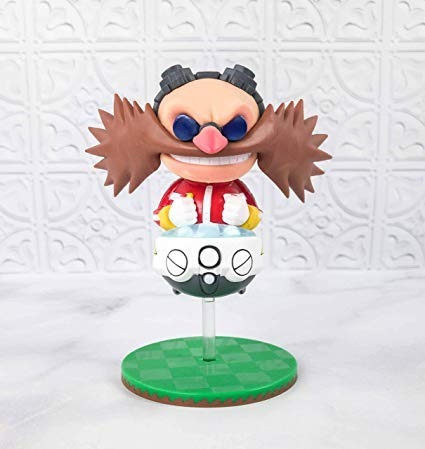 figura sonic doctor eggman exclusiva