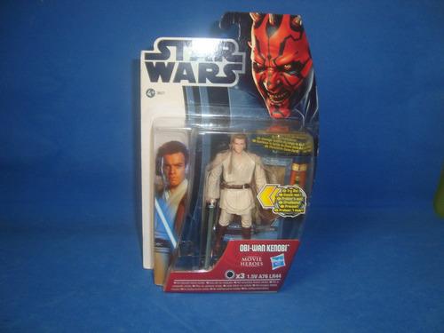 figura star wars  obi wan con sable de luz vbf