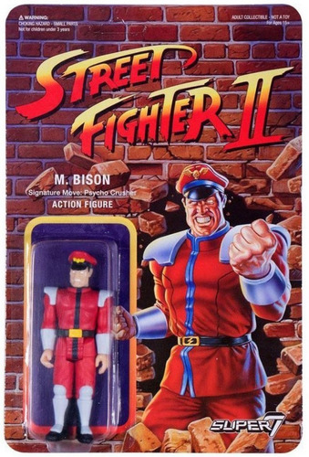 figura street fighter 2 bison retro super7