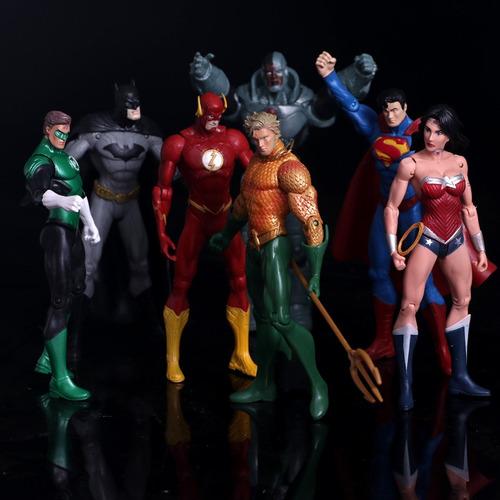 figura super heroe liga justicia mujer maravilla batman man