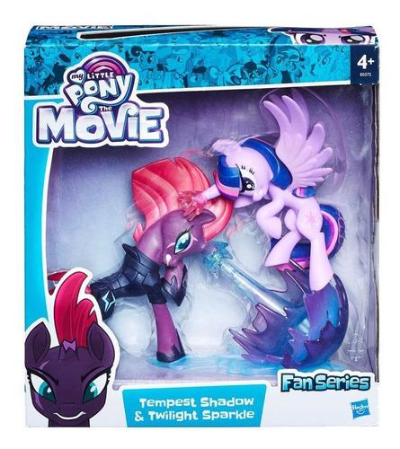 figura tempest shadow y twilight sparkle my little pony