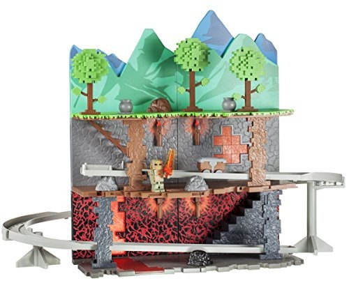 figura terraria multi level biome playset